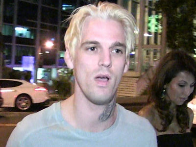 Aaron Carter Threatened by Publicist Over Alleged Trash Talk