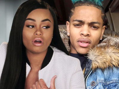Blac Chyna Kicks Mechie to the Curb ... and All His Crap, Too