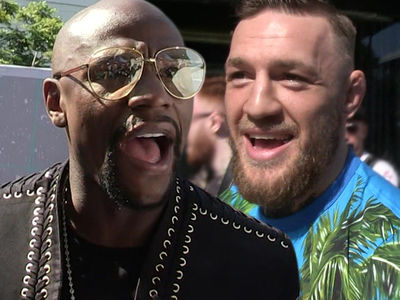 Floyd Mayweather Down with Fighting Conor McGregor (VIDEOS)