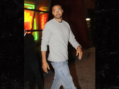 Jesse Williams & Minka Kelly All Smiles After Date Night