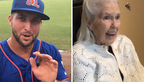 Tim Tebow Makes Best Grandma Video Ever