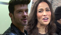 Robin Thicke and Paula Patton End Custody War