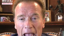 Arnold Schwarzenegger: I Knew Real Nazis, They're Burning In Hell
