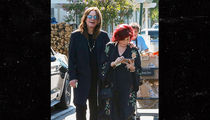 Sharon and Ozzy Osbourne Walk Down the Aisle ... at Bristol Farms