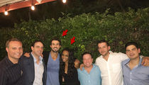 'Bachelorette' Rachel Lindsay Celebrates Engagement Party with Her Fiance and Exes