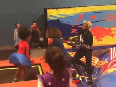 Odell Beckham Goes Full Spider-Man for Kids Bday Party!