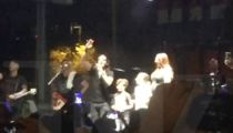 Scott Stapp Huddles Family, Concert Crowd for Cool Gender Reveal