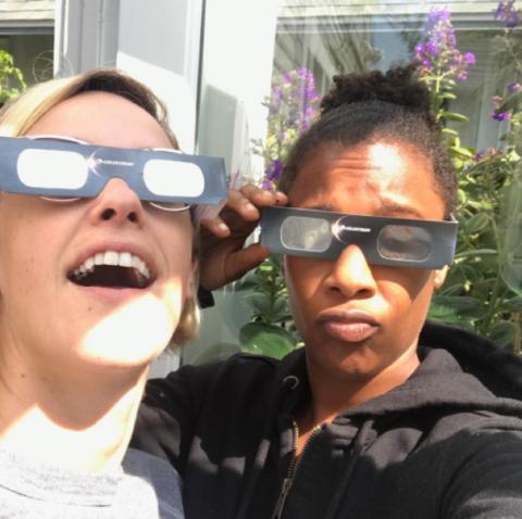 Lauren Morelli and Samira Wiley