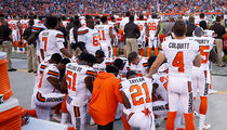 White Cleveland Browns Player: 'I Kneeled to Support My African American Teammates'
