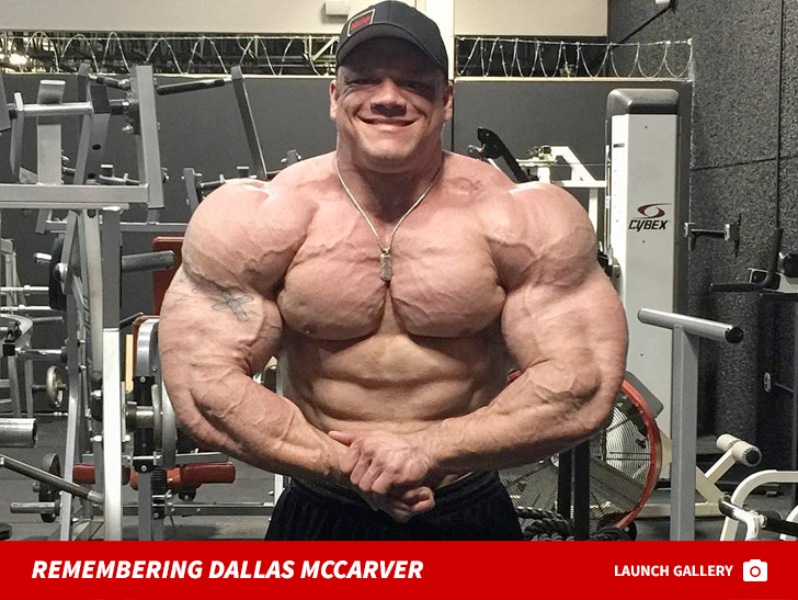 Bodybuilder Dallas Mccarver Dies Apparently Choked On Food Tmzcom
