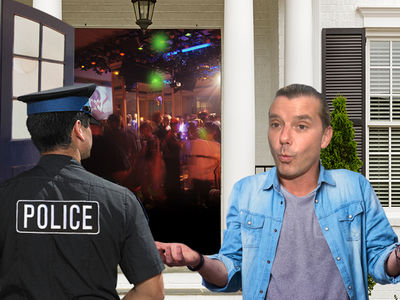 Gavin Rossdale's House Party Crashed By Cops