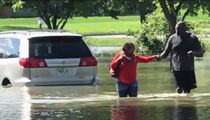 Chiefs Legend Neil Smith Rescues Pregnant Woman from Flood