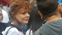 Susan Sarandon Hits Kaepernick Rally, 'I Stand With Colin'