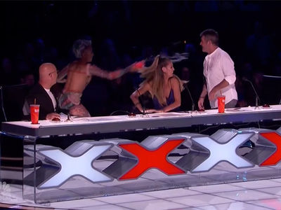 Mel B Storms Off 'AGT' After Simon Cowell's Insult