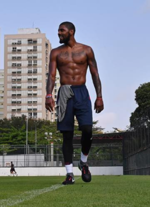 Kyrie Irving's Shirtless Shots
