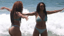 The Gonzalez Twins Hit The Beach