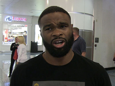 Tyron Woodley: So, Me & Georges St-Pierre Walk Into a Gym ...