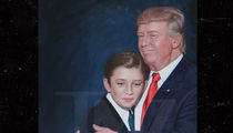Barron Trump Portrait Headed to the White House