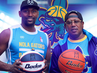 Master P Signs Metta World Peace for Co-Ed Hoops League