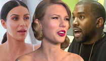Kim Kardashian, Kanye West Say Taylor Swift is in Feud With Herself in New Song