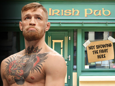 Conor McGregor's Irish Fans High, Dry and Pub-Less in Vegas,