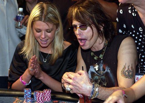 Steven Tyler and Tara Reid