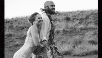 Ronda Rousey and Travis Browne: First Wedding Pic Revealed!!