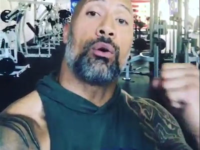 The Rock Donates $25k to Houston Relief, Shades Kevin Hart