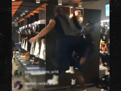 Von Miller Gets Posterized By Rookie in Locker Room Basketball