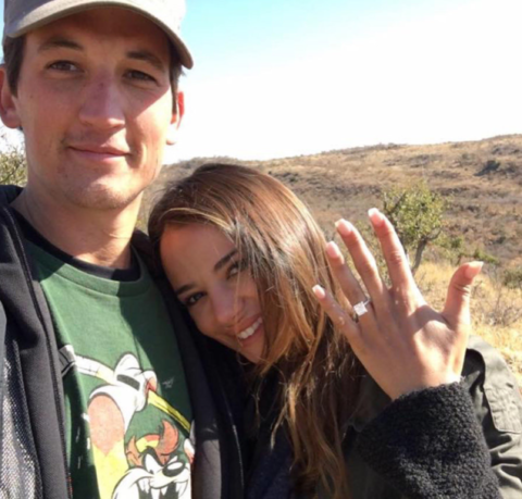 Miles Teller and Kaleigh Sperry