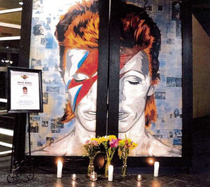 Hard Rock Hotel sued over David Bowie Album cover mural