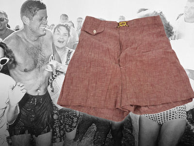 John F. Kennedy's Original Swim Trunks Up for Auction Starting at a Dollar