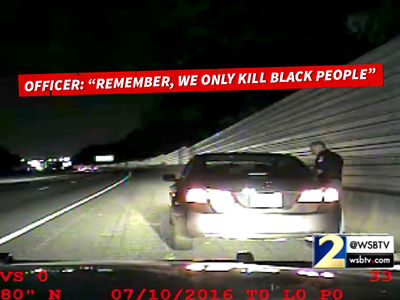 Georgia Cop Tells White Woman ... Don't Worry, We Only Kill Black People