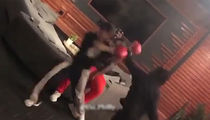 Lil Uzi Vert Beats The Hell Out Of Scrawny Dude in Casual Boxing Sesh