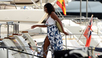 Michelle Obama Cruising Her Way Through Spain