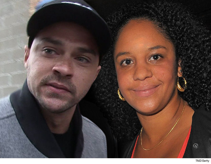 Jesse Williams and estranged wife Aryn Drake-Lee have reached an agreement  in their divorce ... at least temporarily on the subject of custody of  their 2 ...