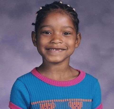 Before this smiley sweetheart was winning spelling bees, she was just another kid jumping rope in Robbins, Illinois.