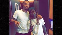 Lil Wayne Surfaces in Recording Studio with NBA Star Damian Lillard