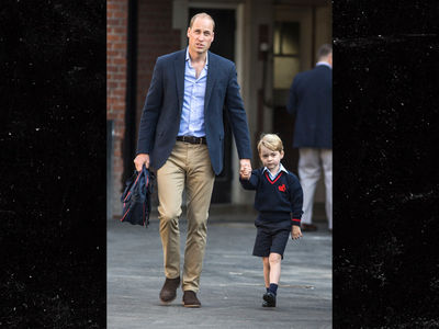 Prince George Goes to First Day of Kindergarten, Duchess Kate Too Sick to Attend