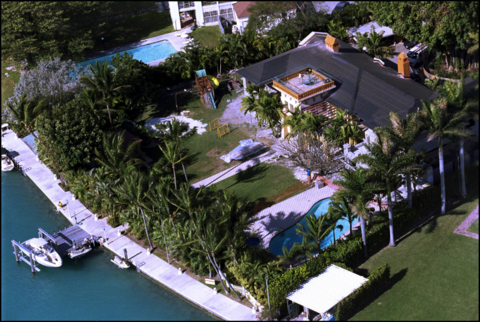 Gloria Estefan owns 2 properties on Star Island.
