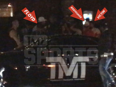 Floyd Mayweather's TMT Member Roughs Up Fan, Police Report Filed