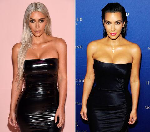 Platinum Kim (36) vs. Classic Kim (35) -- Hair-allel Universe Edition