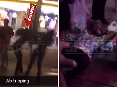Adrien Broner Knocks Out Guy, Shoves Woman on Vegas Strip in Crazy Video