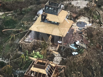 Richard Branson's Necker Island Devastated by Hurricane Irma