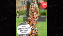 Joanna Krupa's Body Paint Has a Message for You