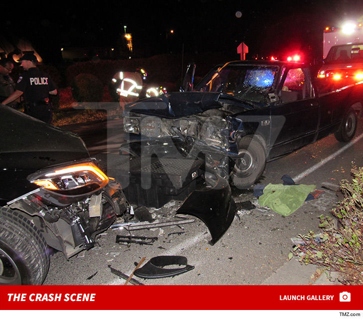 Macklemore Crash Scene, First Pics Show Truck Driver Swerved into ...