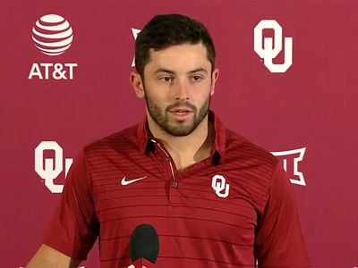 Oklahoma QB Baker Mayfield Unnecessarily Apologizes for Flag Planting at OSU