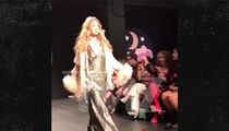Gigi Hadid Loses High Heel During Fashion Week, Walks It Off Like a Pro