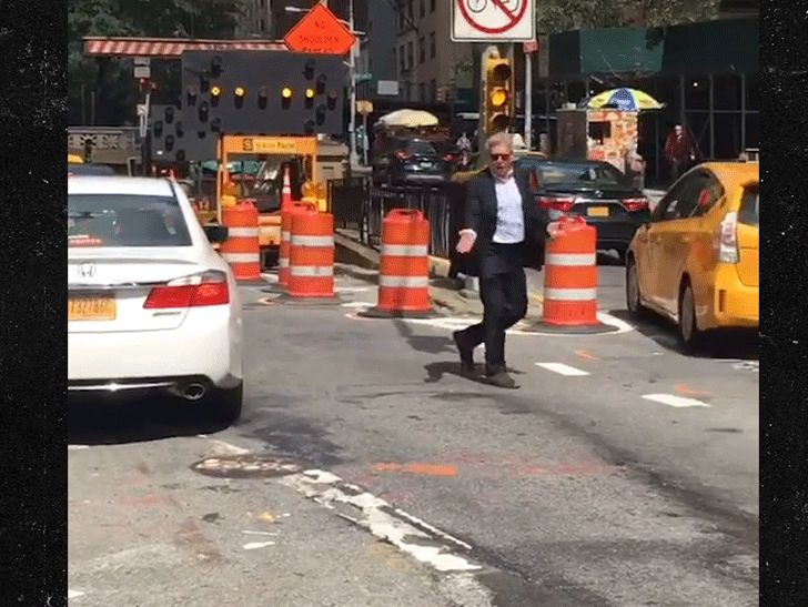 Harrison ford directs tunnel traffic in new york city for Tmz tour new york city