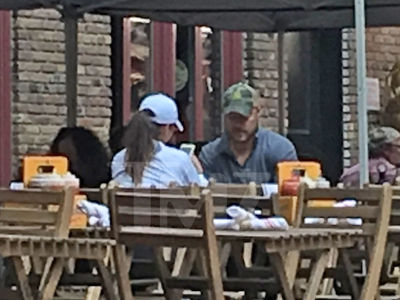 Chris Soules and Andi Dorfman Reminisce Like Old Times at Mystery Lunch Date